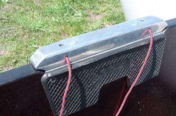 Использование накладки на транец, выполненную на основе металла, для работы моторных лодок, на — marlinmotors.ru.