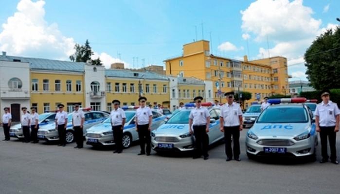 33 новых автомобиля получили инспекторы ДПС в Смоленске