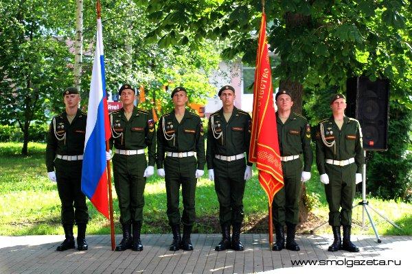 45 новобранцев из Смоленска проводили на срочную службу