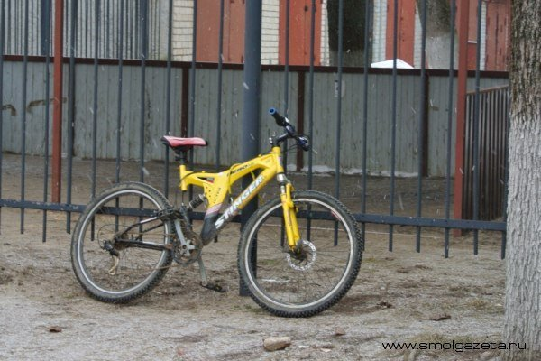 В Сафонове водитель ВАЗа сбил велосипедиста