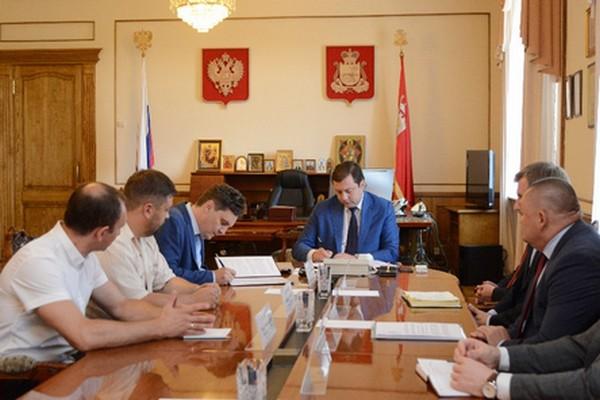 В Смоленской области откроют предприятие по производству упаковочной тары для сельхозпроизводителей