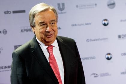 СМИ сообщили имя лидера на предварительных выборах генсека ООН