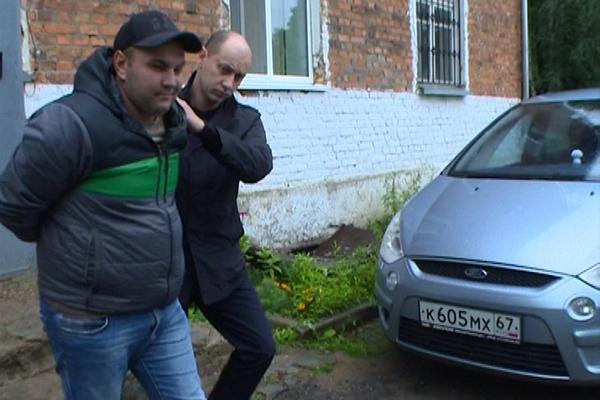В Смоленской области задержан один из членов банды вымогателей