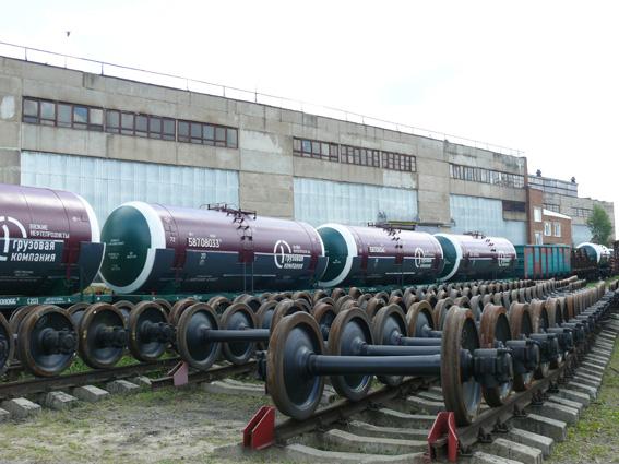 Минтранс помог Рославльскому вагоноремонтному заводу