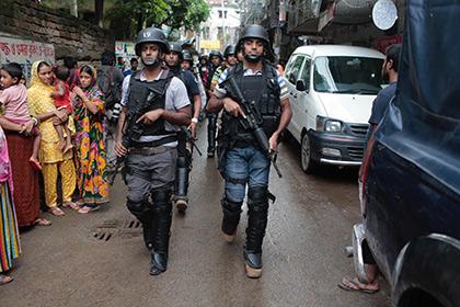 Спецслужбы Бангладеш застрелили девять исламистов