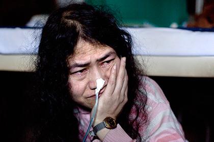 Индийская активистка решила прекратить продолжавшуюся 15 лет голодовку