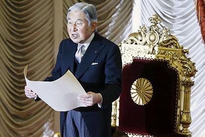 Японские СМИ сообщили о возможном отречении императора