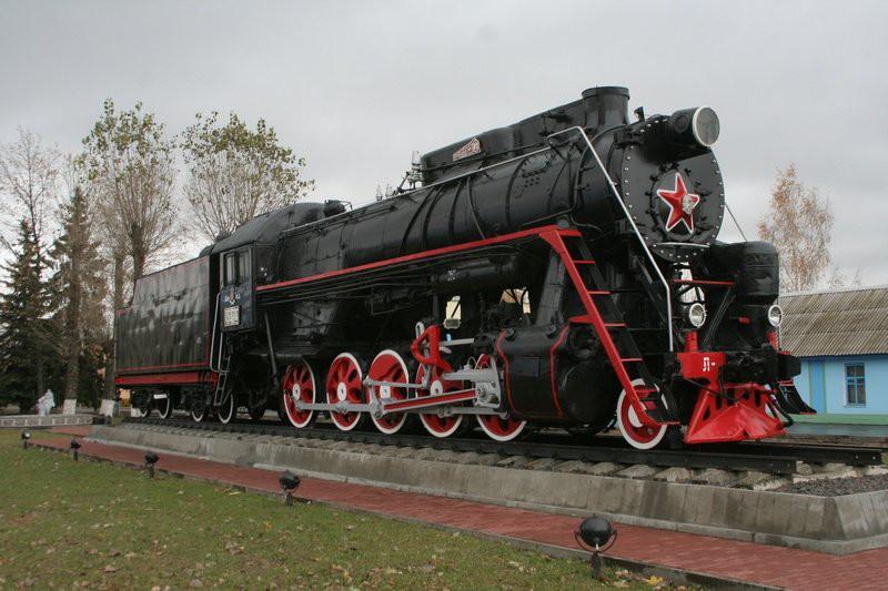 В Рославле установят новый памятник паровозу