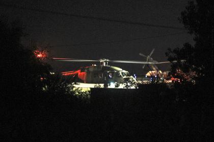 В небе над Стамбулом обстреляли неопознанные вертолеты