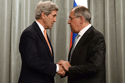Керри и Лавров обсудили сотрудничество в Сирии