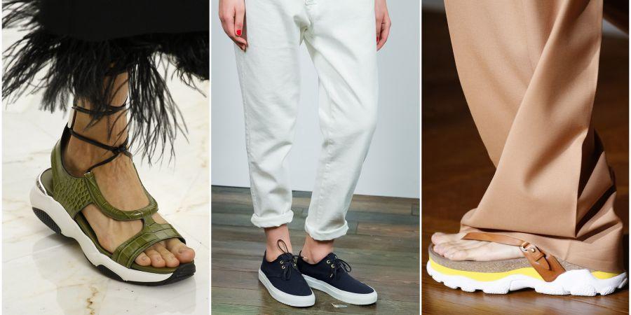 Обувные тенденции весна-лето 2016