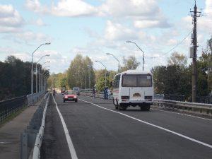 В Велиже открыли отремонтированный мост через Западную Двину