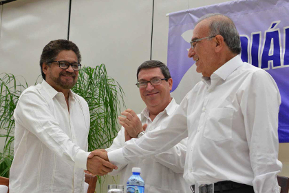 Власти Колумбии и РВСК заключили мирное соглашение