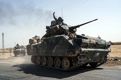 Турция пригрозила начать операцию против сирийских курдов
