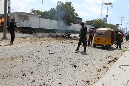 У дворца сомалийского президента взорвался заминированный автомобиль