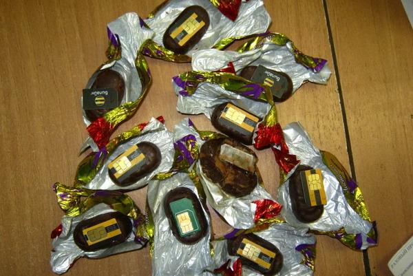 В Смоленской области в колонию пытались доставить сим-карты в шоколадных конфетах