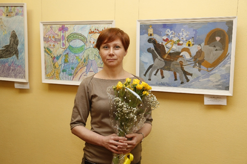 В Смоленске откроется выставка Татьяны Еленевой «Краски года»