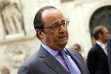 Олланд допустил возможность участия в президентских выборах в 2017 году