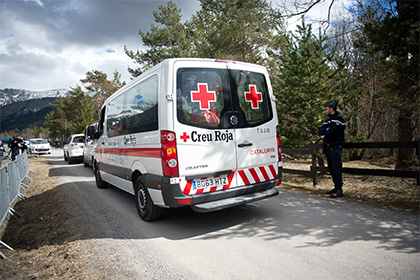 Во Франции 40 человек пострадали в давке из-за взрыва петарды