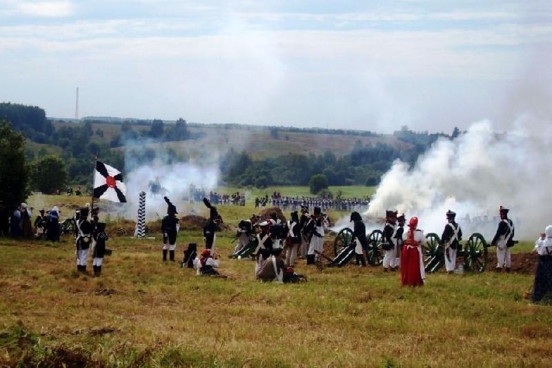 В Пензе показали реконструкцию Смоленского сражения 1812 года