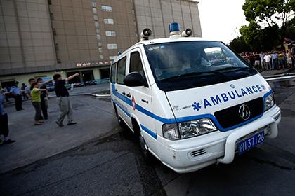 При взрыве на заводе в Китае погибли более 20 человек