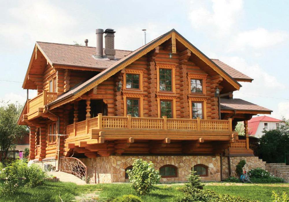 Дом из бруса – собственный сказочный терем
