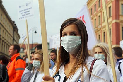 Женщины Польши выйдут на манифестацию ради абортов
