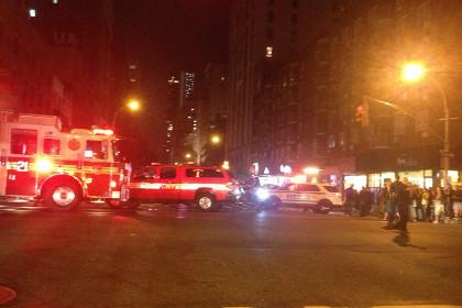 На Манхэттене произошел взрыв
