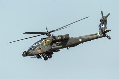 В Греции разбился военный вертолет Apache