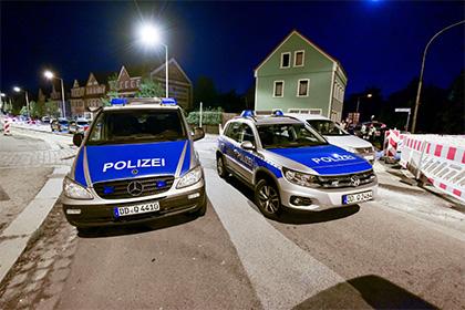 В Дрездене произошли два взрыва