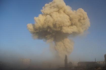 В Сирии в ходе воздушной атаки ликвидированы главари террористов