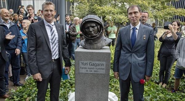 В Дании установили памятник Юрию Гагарину