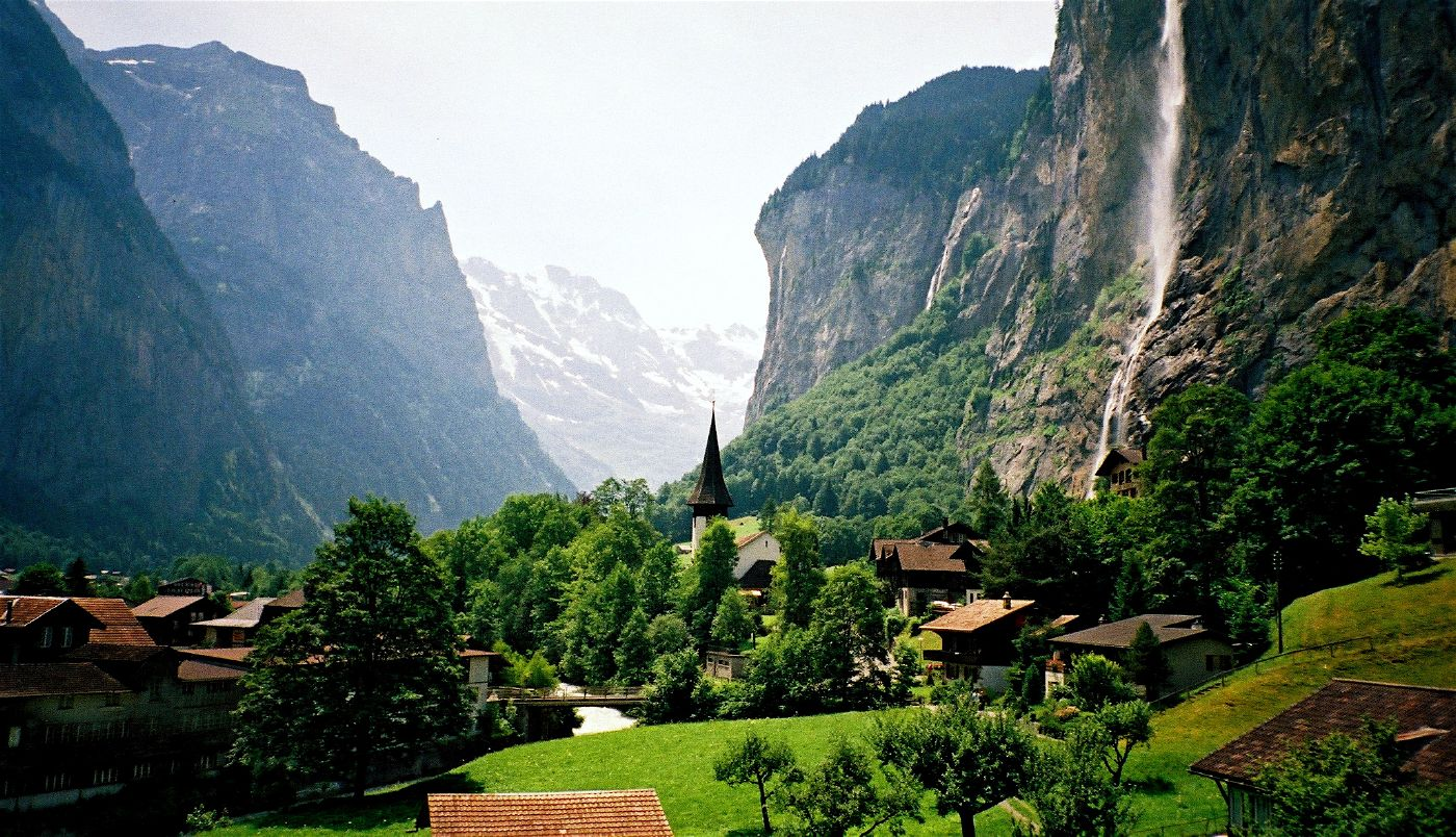 Шоколадная горная страна Швейцария