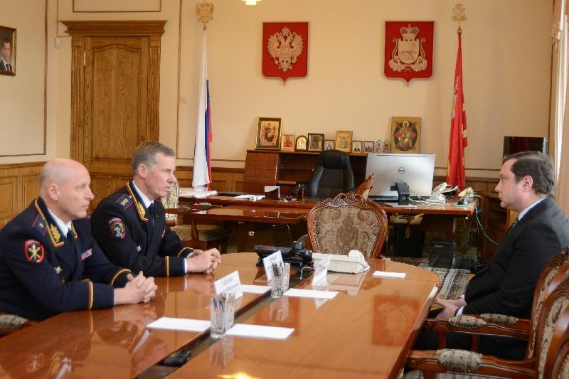 В Смоленской области представили нового начальника УМВД
