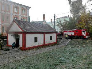 В Смоленске после пожара временно закрыта «Городская кузнеца XVII века»