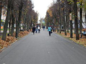 В Смоленске завершили ремонт улицы Октябрьской Революции