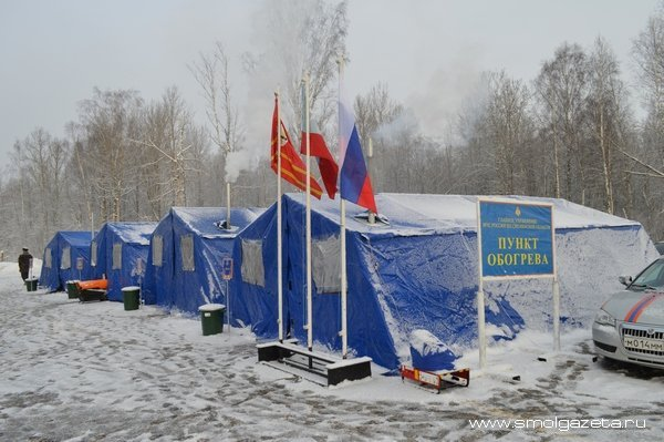 В Смоленской области МЧС и ГИБДД патрулируют опасные участки трассы М-1