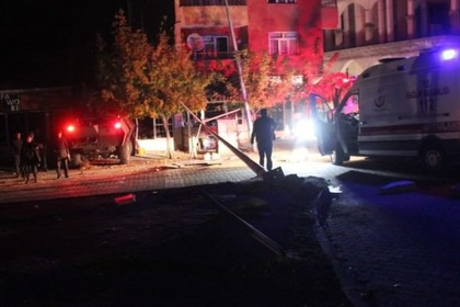 При взрыве в турецком городе Бингель погиб один полицейский
