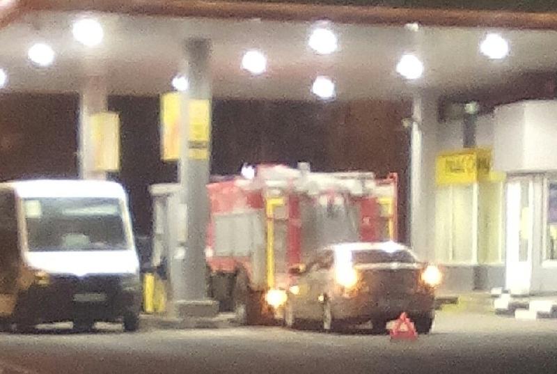 В Смоленске произошло ДТП с пожарной машиной