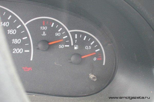В Смоленской области дорожает 95-й бензин