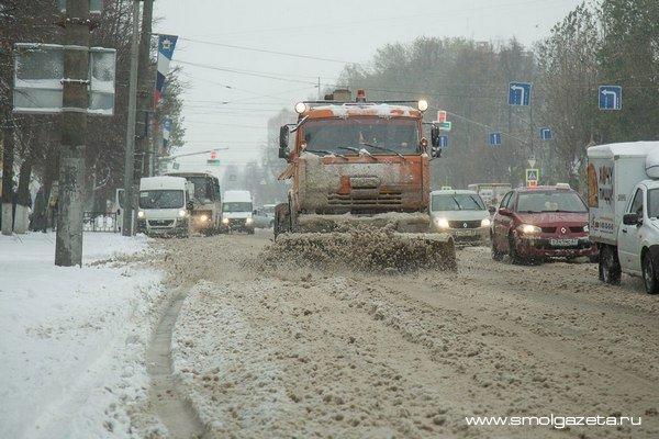 В Смоленск не пускают большегрузы