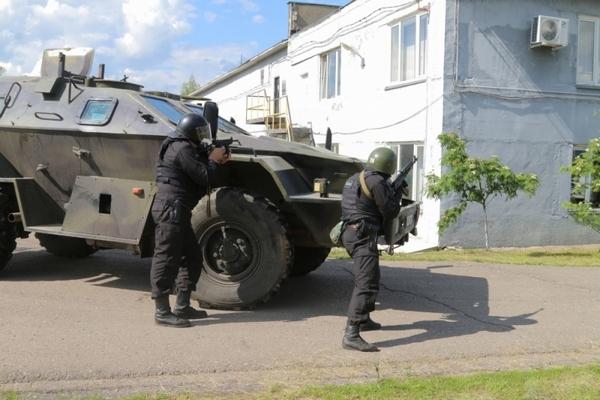 В Смоленске силовики провели антитеррористическую операцию