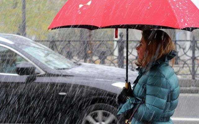 В субботу в Смоленской области ожидается мокрый снег и сильный ветер