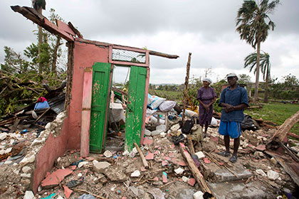 Число жертв урагана «Мэтью» на Гаити достигло 478 человек
