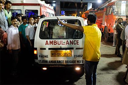 На фабрике по производству пиротехники в Индии произошел взрыв