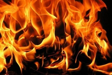 Ночью в Руднянском районе сгорела квартира