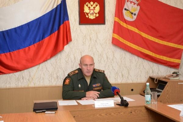 В Смоленской области стартовал осенний призыв
