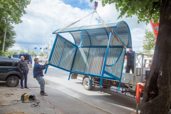 В следующем году в Смоленске планируют установить 30 остановочных павильонов