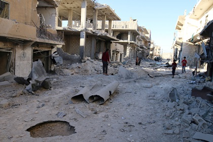 Сирийские военные призвали боевиков покинуть Алеппо