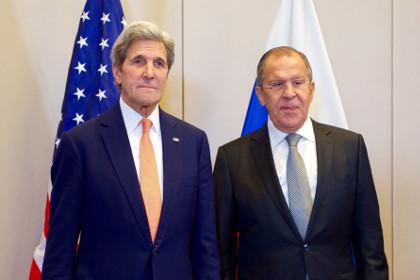 Лавров и Керри обсудили по телефону ситуацию в Алеппо